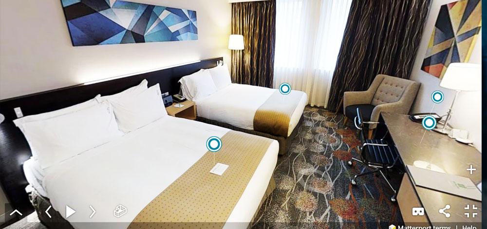 wirtualny spacer hotel