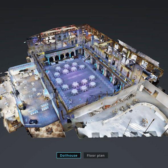 wirtualny spacer kompleks bankietowy