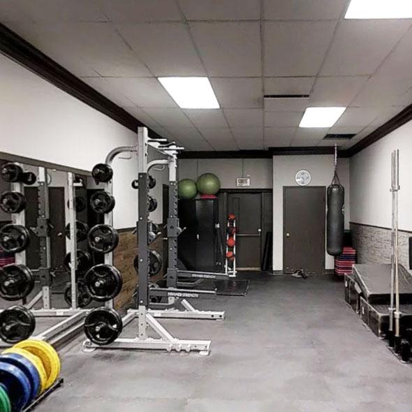 wirtualny spacer sala treningowa