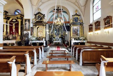 wirtualny spacer zabytkowy kościół Ruszcza