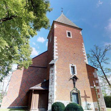 wirtualny spacer kościół Kraków