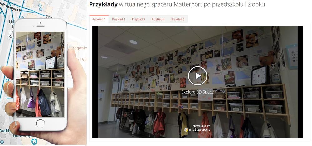 wirtualny spacer przedszkole