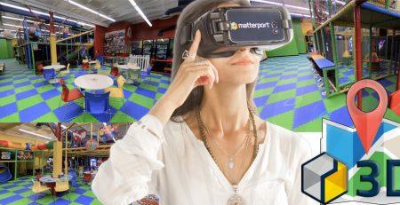 wirtualny spacer sala zabaw