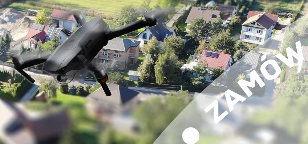 filmowanie-z drona nieruchomości Kraków