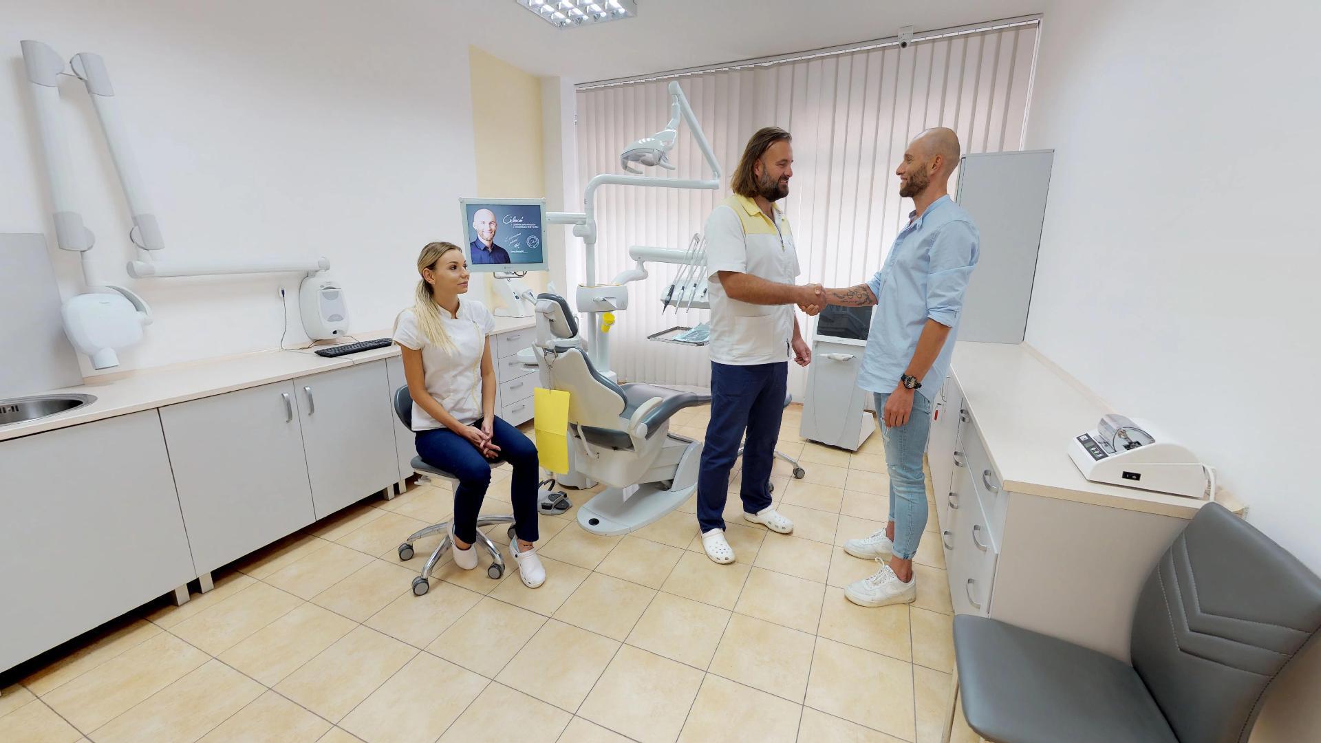 gabinet dentystyczny na mapie