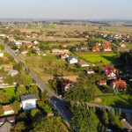 okolica z drona działka na sprzedaż