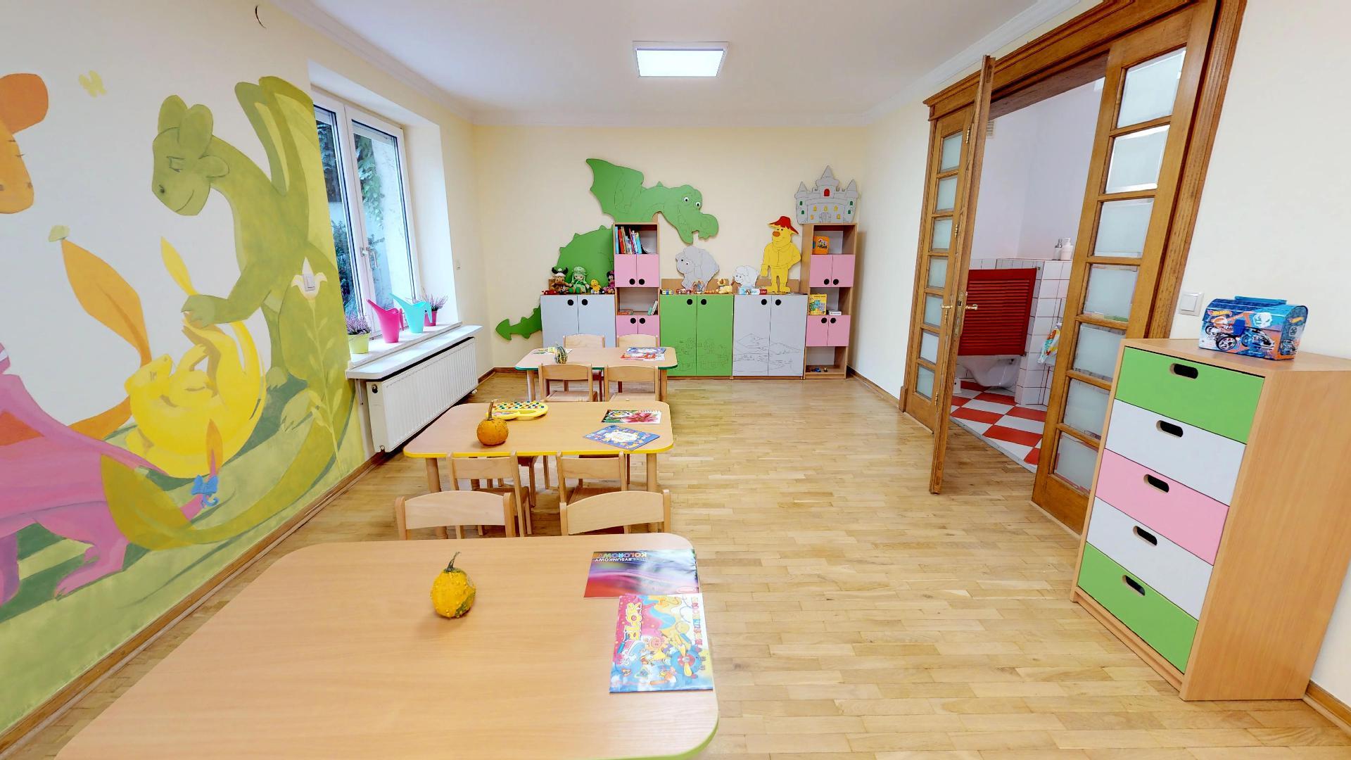 nowe przedszkole Kraków wirtualny spacer
