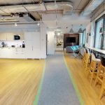 wirtualny spacer biuro open space