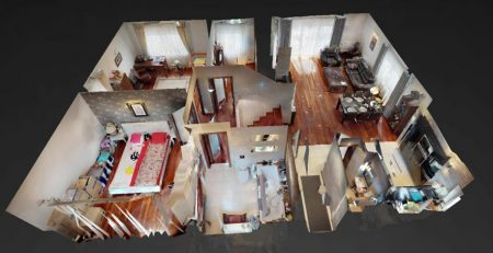 wirtualny spacer dom na sprzedaż