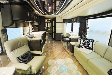 wirtualny spacer luksusowy dom na kolach