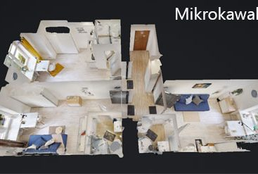 wirtualny spacer mikro kawalerki