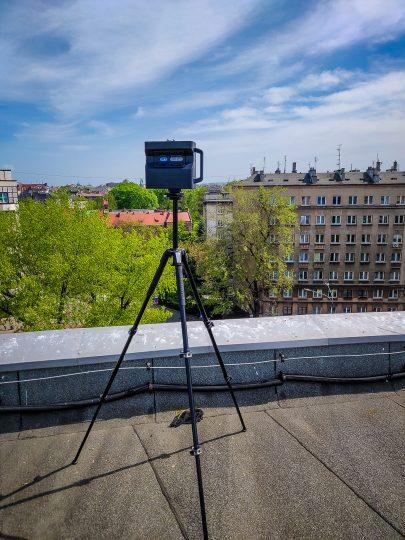 dach radia Kraków