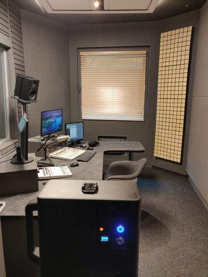 radio Krakowa studio