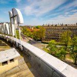 Radio Kraków widok z dachu