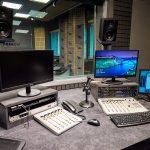 reżyserka studio nagrań radio Kraków