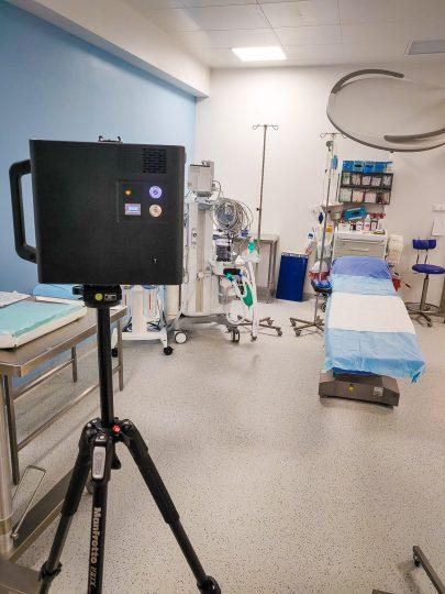 wirtualny spacer oddział szpitalny