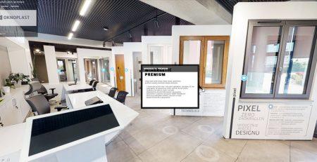 wirtualny spacer salon sprzedaży