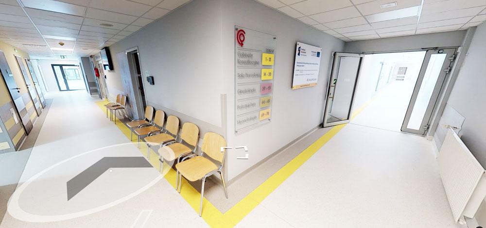 wirtualny spacer szpital Rydygiera
