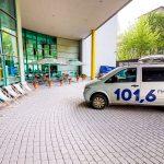 wóz transmisyjny radia Kraków