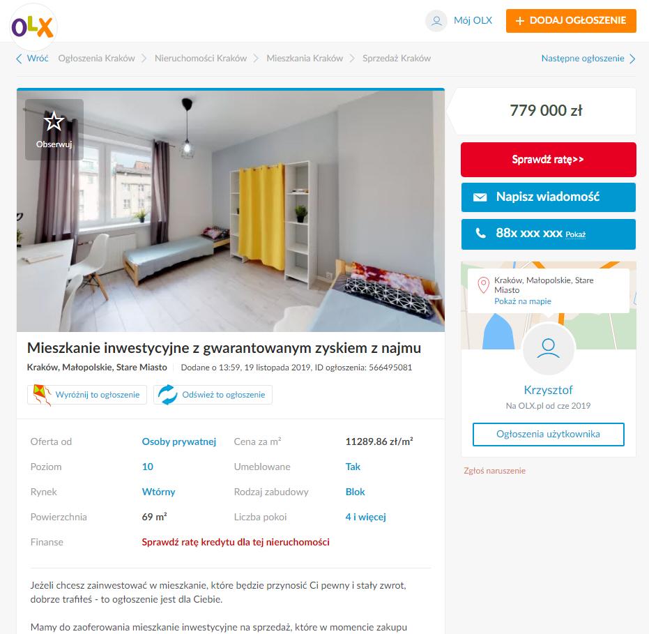 olx zdjęcia nieruchomości