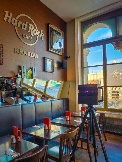 wirtualny spacer w restauracji