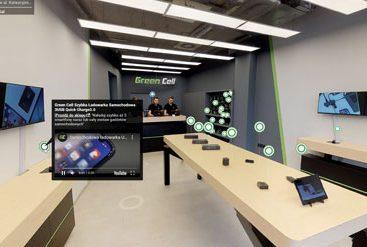wirtualny spacer showroom