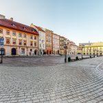 wirtualny spacer ulice starego miasta