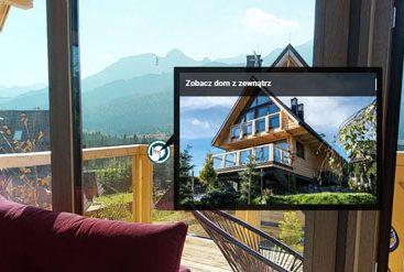 nocleg w górach wirtualny spacer