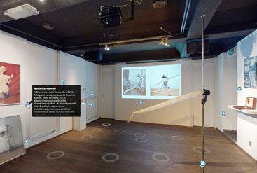 wirtualny spacer 3d wystawa sztuki