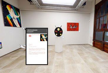wirtualny spacer galeria sztuki