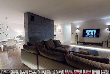 wirtualny spacer luksusowa nieruchomość