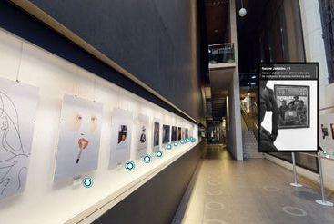wirtualny spacer wystawa prac malarskich