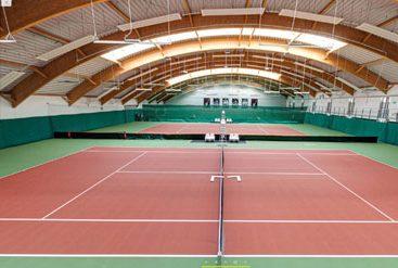 wirtualny spacer korty tenisowe siłownia