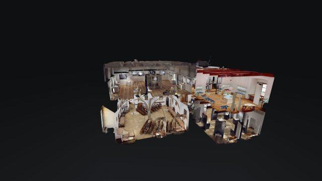 wirtualny spacer matterport wieliczka