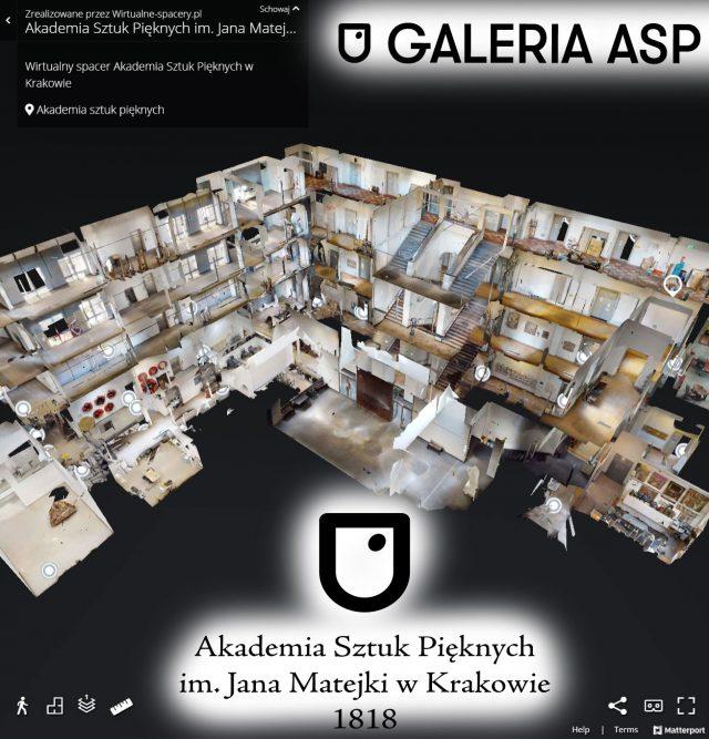akademia sztuk pięknych wirtualny spacer