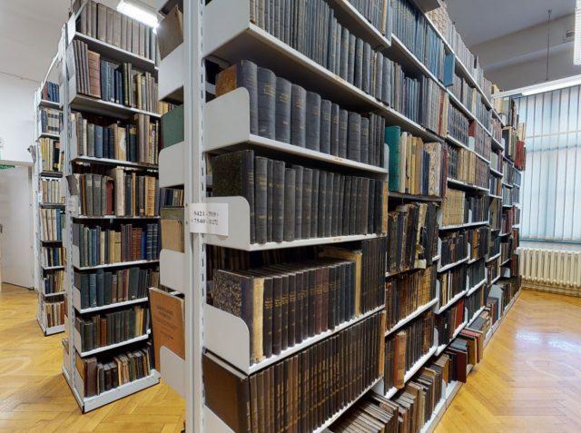 biblioteka wirtualny spacer
