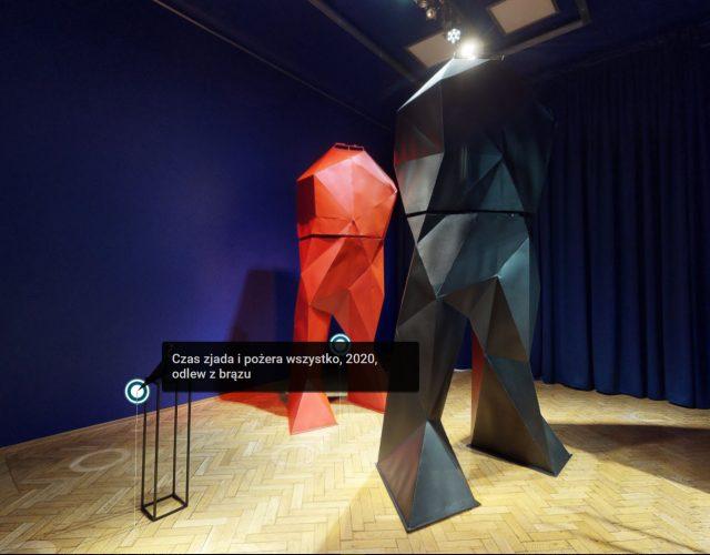wirtualny spacer sztuka nowoczesna