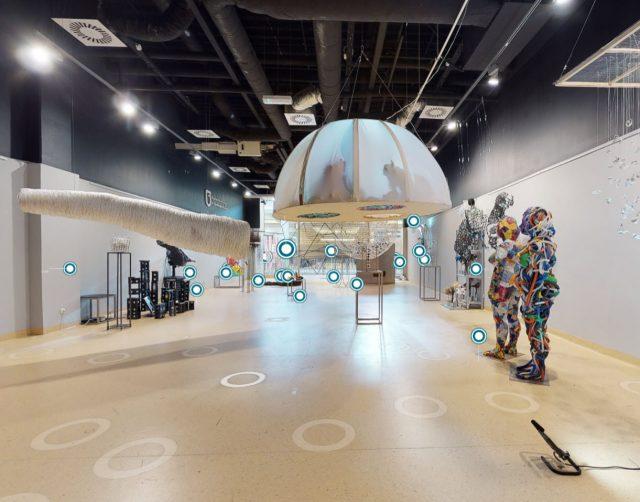 wirtualny spacer sztuka nowoczesna rzeźba